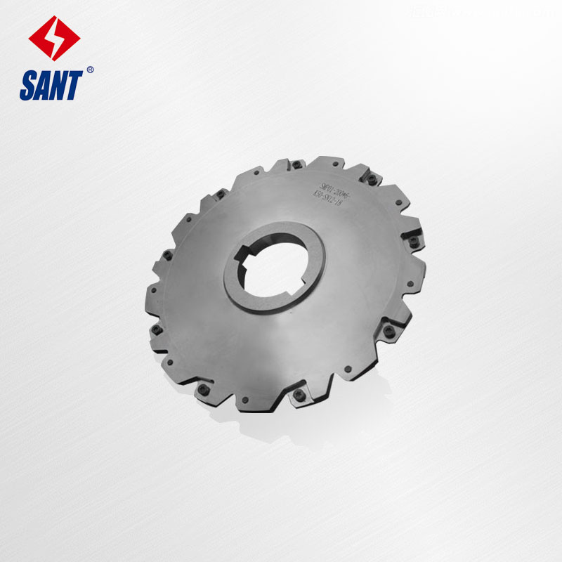 Indexable Milling Cutter Match Insert XSEQ12T3 Side And Face Milling Cutter Disc PT02