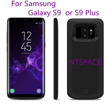 NTSPACE Portable Power bank Back Cover Battery Charger For Samsung Galaxy S9 S9 Plus External Backup Power Bank Battery Case