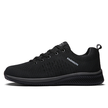 Men Casual Lace-up Shoes Lightweight Comfortable Breathable Walking Sneakers