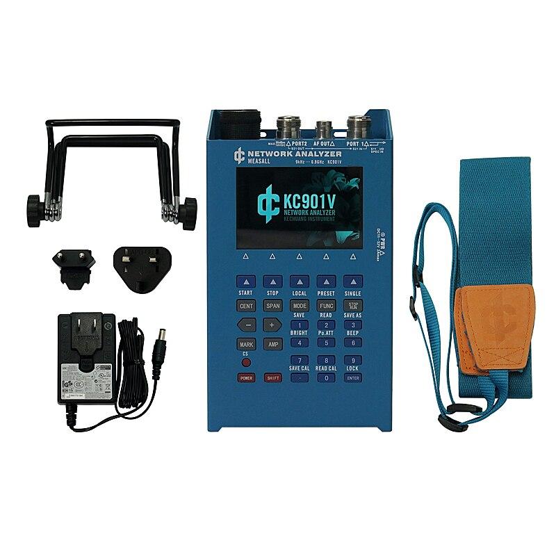 KC901V ручной мультиметр сетевой Векторный анализатор телевизионные антенны подачи тестер стоя волна метр спектральный поле силы E10091