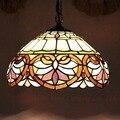 Европейский ручной работы Tiffany витраж арт подвесной светильник E27 110-240 В цепочка подвесные светильники для дома  гостиной