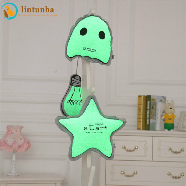 Hot Selling Fashion Baby Cushion Fluorescent Cushion Luminous Pillow Baby Toys Popular Toys For Baby Stuffed Toy