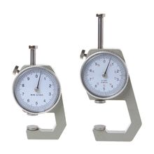 Dial Thickness Gauge 10 20mm Leather Paper Thickness Meter Tester Accuracy 0.1mm
