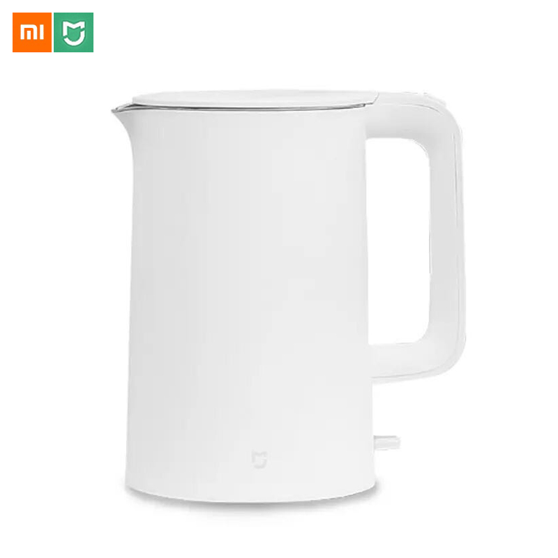 Original Xiaomi Mijia Electric Kettle 1.5L fast boiling stainless teapot Water Kettle Auto Power off Protection Smart Home Tool