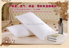 Soft 90% white goose down pillow European size 26*26 inches filled 28 oz free shipping factory wholesale