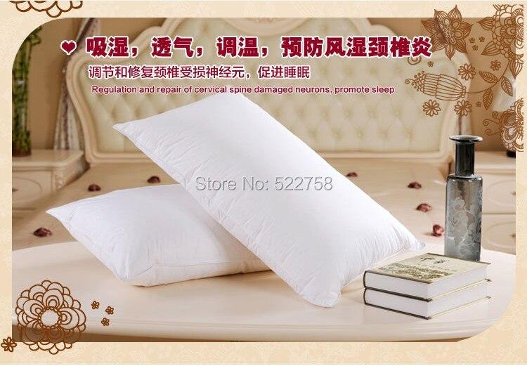 Suave 90% blanco ganso abajo almohada tamaño europeo 26*26 pulgadas relleno 28 oz envío gratis fábrica al por mayor