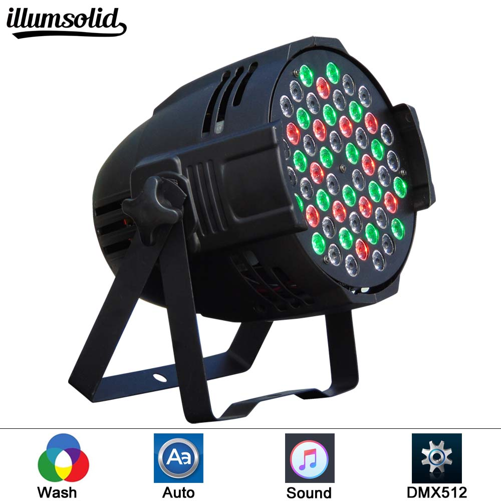 Par Light 54 LED RGB 3IN1 54*3LED Stage Lighting DMX 512 Club Disco Party Ballroom KTV Bar Wedding DJPar Light 54 LED RGB 3IN1 54*3LED Stage Lighting DMX 512 Club Disco Party Ballroom KTV Bar Wedding DJ