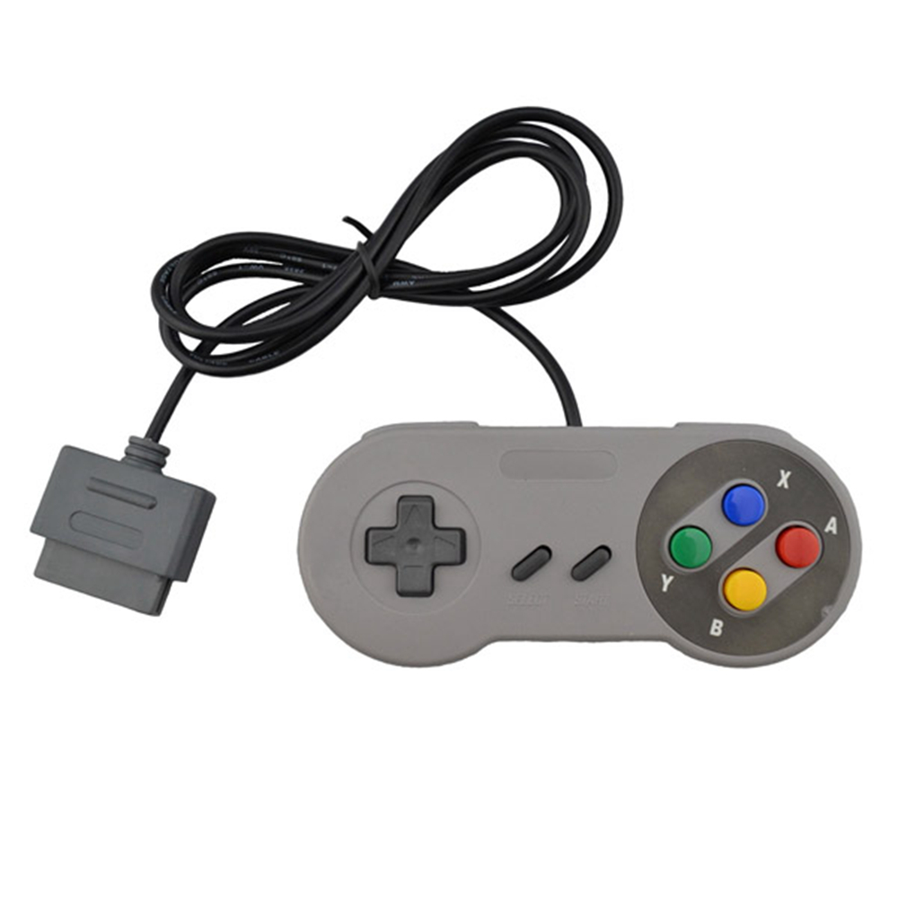Wired classic retro Super Gaming Joypad Joystick for Nintendo SNES Controller for PC for ...