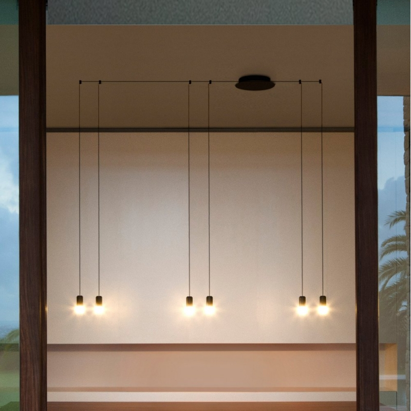 Modern Simple Living Room Luminaire Long Line Modern Light