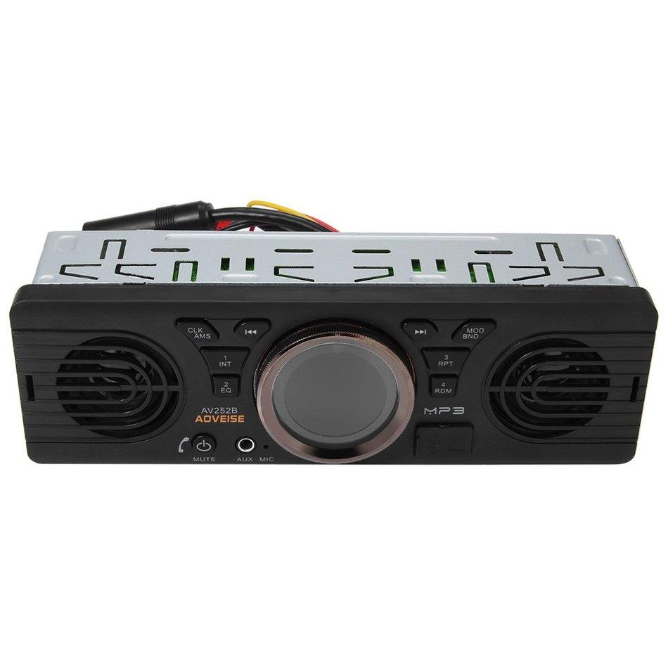 New Style Car MP3 Player In-dash Bluetooth Player V2.1 MP3 Radio  Player Audio Player Stereo FM Radio 12V  + ED RUSB / TF Card