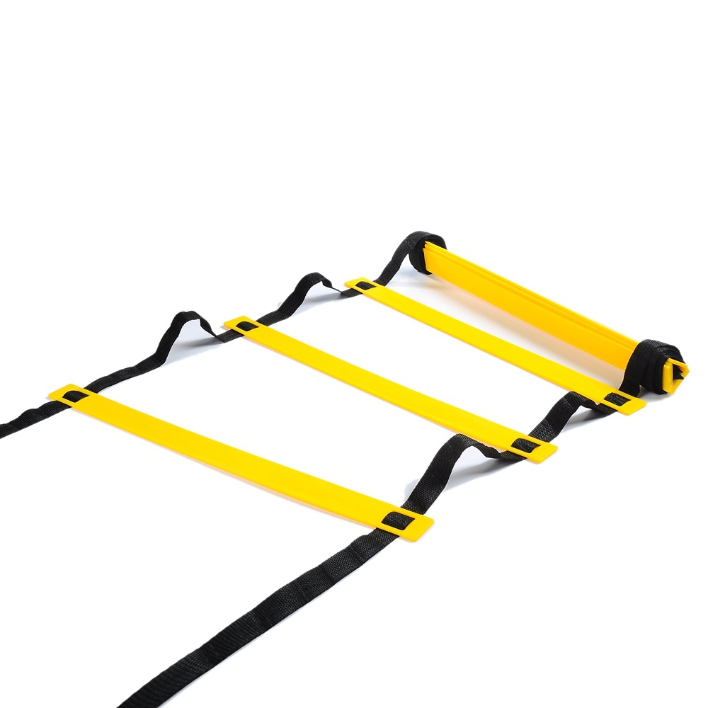 Adjustable Outdoor Soccer Football Training Ladder Durable Agility Ladder for Speed Training Fitness Football Agile Pace Black 26