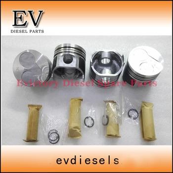 Oversize +0.50 V1505 piston piston ring cylinder liner full gasket kit crankshaft bearing con rod bearing water pump