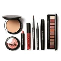 FOCALLURE 8 Pcs Makeup Sets Make Up Cosmetics Tool Kit Makeup Gift HS11