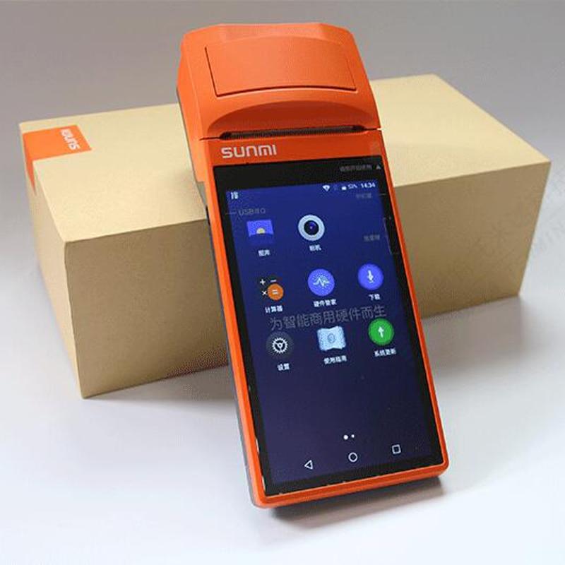 Əl simsiz Bluetooth Termal Qəbul Printeri Sensor Ekran usb SIM - Ofis elektronikası - Fotoqrafiya 6