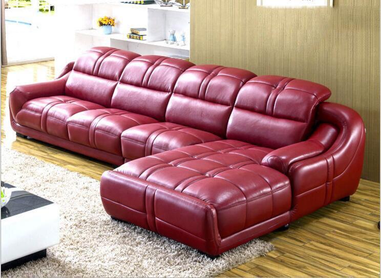 Wysokiej jakości europejski salon skórzana sofa a1245