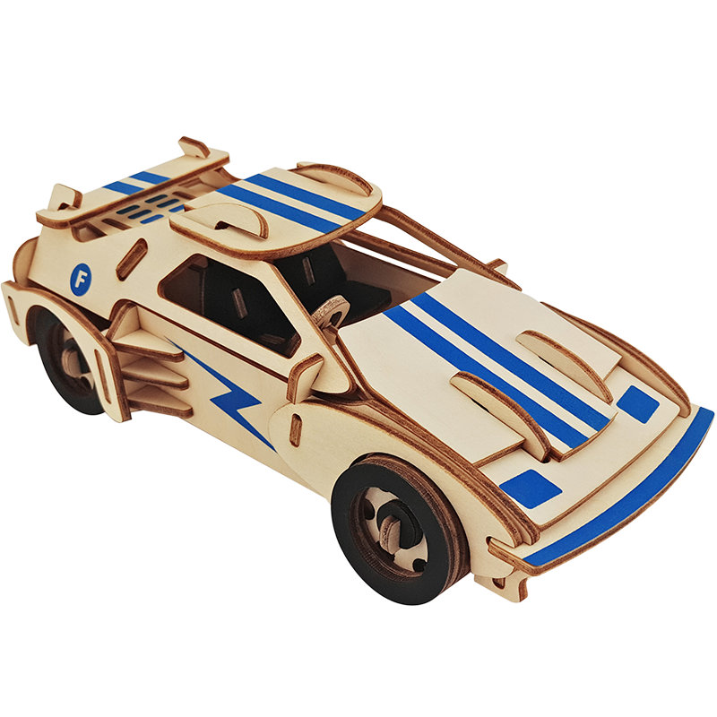 New Wooden Puzzle Toy Military Series <font><b>Tank</b></font> Vehicle Model Set Creative wood Education Plane car Gifts For Children Kids game image