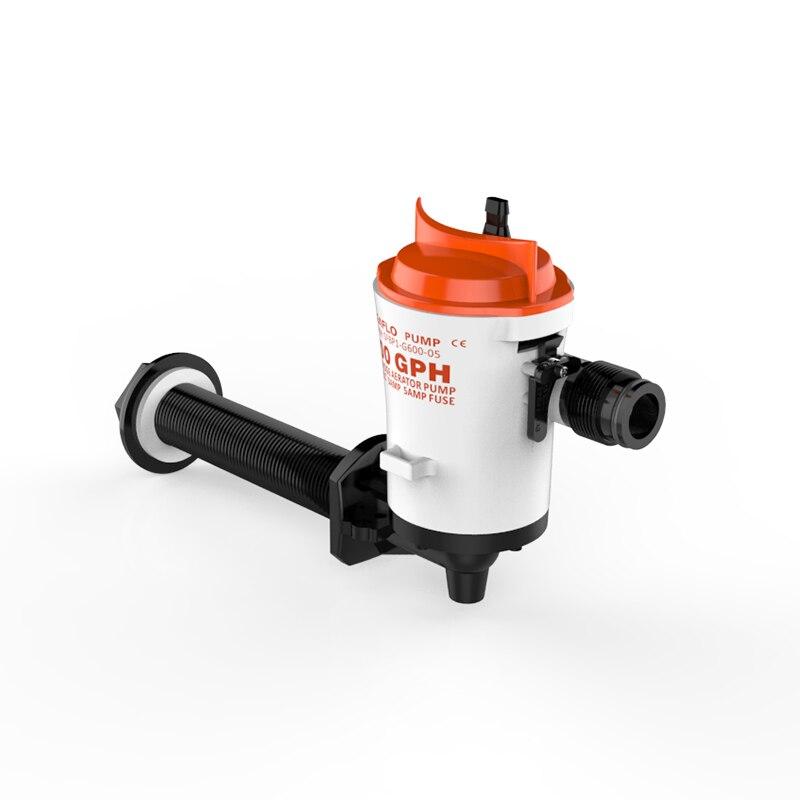 SEAFLO 12V 600 GPH Live Bait Pump Water Pump Fish Pond Livewell Pump Cartridge