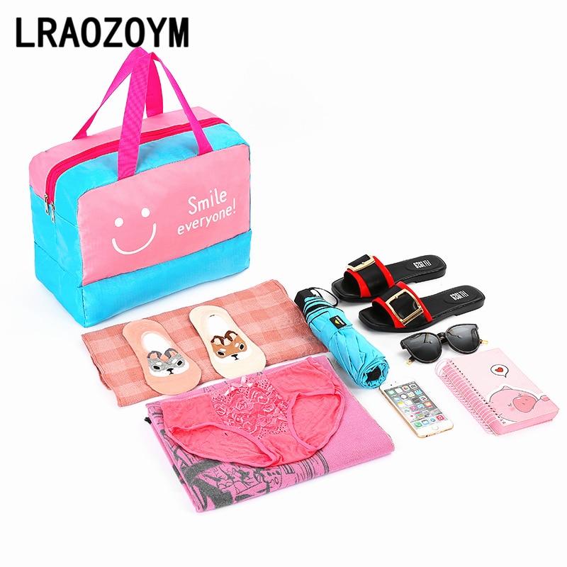 LRAOZOYM Beach Swimming Bag Dry Wet Separation Storage Sports Pool Bags Swimsuit Travel Gym Waterproof Bag 36*28*18cm