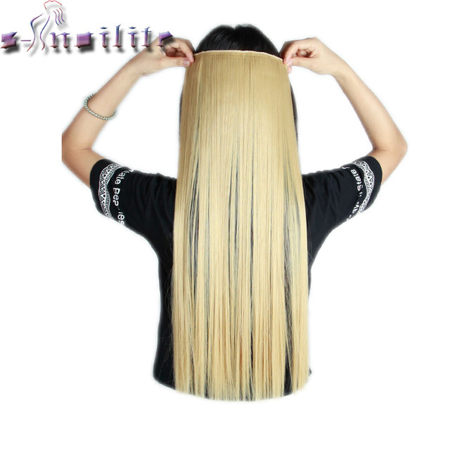 S Noilite Long 26 Inches Baby Blonde Straight 68cm 100 Real Thick