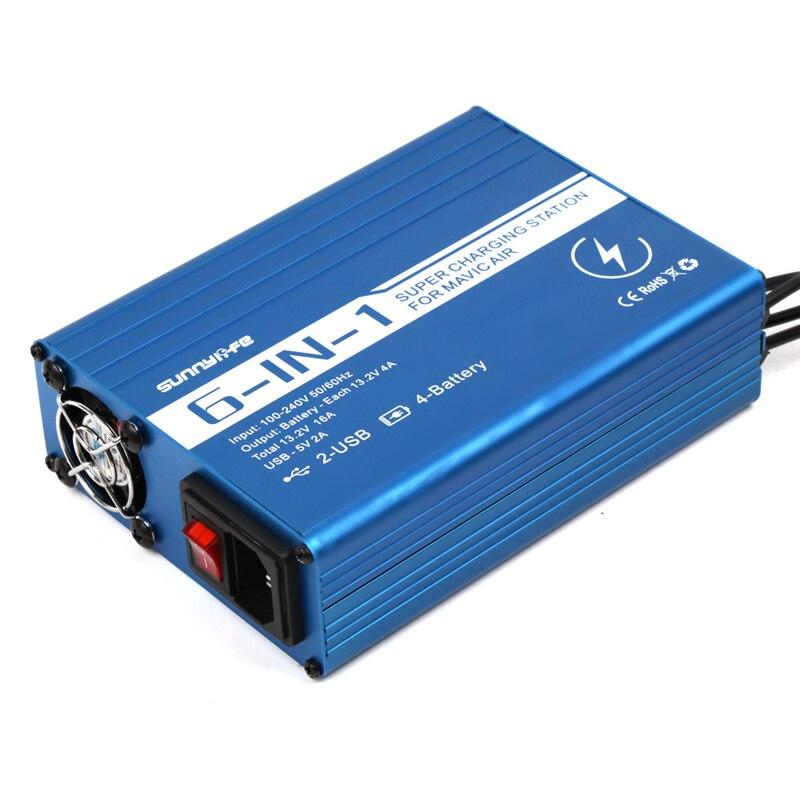 Батарея банк мобильные зарядное устройство мобильный телефон/пульт дистанционного управления/зарядка батареи для DJI mavic air drone аксессуары - 3