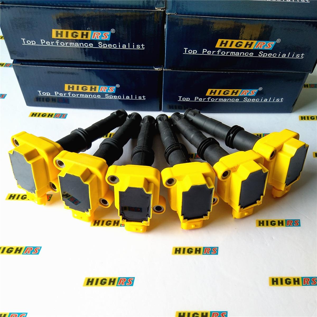 PORSCHE 911 996 BOXSTER 986 DIRECT IGNITION COIL COILS 99760210700 SET 6