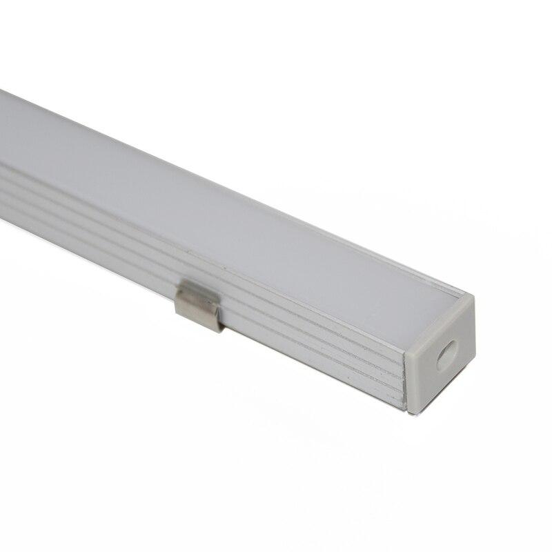 10PCS * 1M U formalı alüminium LED profil alüminium kanal, 16mm - İşıqlandırma aksesuarları - Fotoqrafiya 2