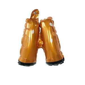 Image 4 - New 3D Dễ Thương Deer Helium bóng bay Lá Phim Hoạt Hình Động Vật Nai Sừng Tấm Bóng Sinh Nhật Bé Tắm Wedding Party Nguồn Cung Cấp Trang Trí