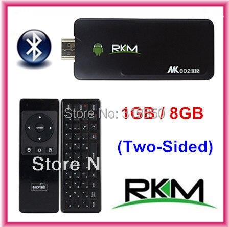 MINI AM11 Fly Air Mouse+MK802 IIIS Rikomagic Bluetooth Android 4.4.2 TV BOX MK802IIIS 8G Android tv box DUAL CORE HDMI