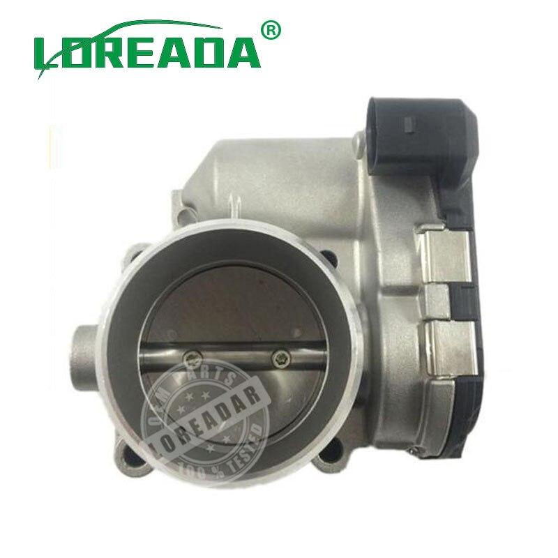 LOREADA Throttle Body Assembly For Audi A4 A6 1.8T ASSENTO EXEO SKODA SUPERB VW PASSAT 1.8T 0280750009 058133063 P 0 280 750 009 throttle body assembly for audi a3 seat leon vw bora 06a133062l 0280750026 06a133062f 06a 133 062 l 0 280 750 026 06a 133 062 f