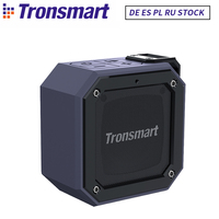 Tronsmart Groove Bluetooth Speaker Force Mini Column Portable Speakers IPX7 Waterproof for Computer MP3 With 24 Hour Playtime