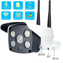 1080P 720P Outdoor Wifi IP Camera Color Night Vision for Motion Detection Surveillance Bullet CCTV Camera