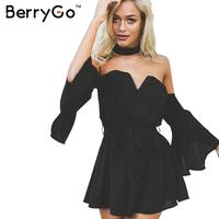 Sexy Bustier Chiffon Black Jumpsuit Romper Summer V Neck Pleated Red Playsuit One Piece Halter Backless