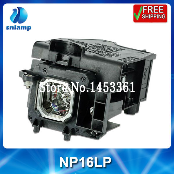 Replacement compatible projector lamp bulb NP16LP for M260WS M260XS M300W M300XS M350X awo sp lamp 016 replacement projector lamp compatible module for infocus lp850 lp860 ask c450 c460 proxima dp8500x