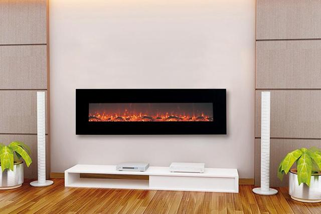 Cheap decor flame electric fireplace