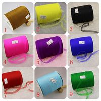 500yards Roll 1cm Organza Ribbon Wholesale Gift Wrapping Decoration Christmas Ribbons For Wedding Party Gift Pack