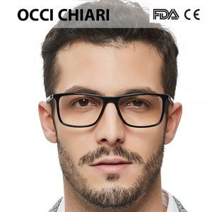 Image 2 - High Quality Acetate Retro Prescription Medical Optical Eye Frames Men Hand Made Glasses Frame Male black OCCI CHIARI W CANO