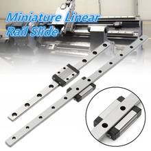 9MN Miniature Guide Linear Support Rail Slide Bearing Steel Ball Holder/Retainer Strong And Durable Linear Guides(China)