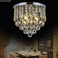 Crystal LED Ceiling Light Modern Aisle/Porch/Corridor/Loft/bedroom/dining room/Hall crystal ball lustre home Decor ceiling lamps