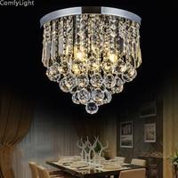 Crystal LED Ceiling Light Modern Aisle/Porch/Corridor/Loft/bedroom/dining room/Hall crystal ball lustre home Decor ceiling lamps