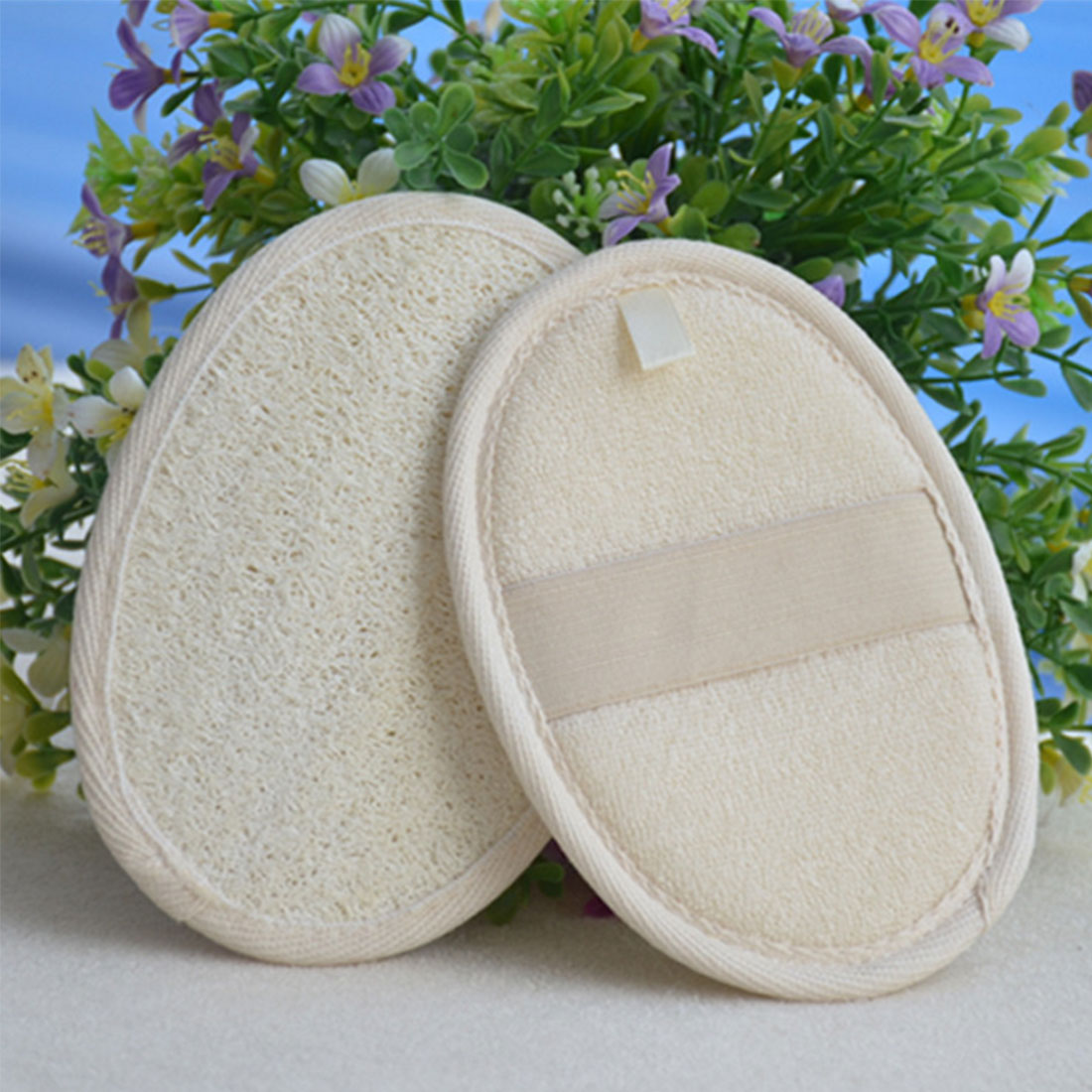 Practical Natural Loofah Bath Shower Body Washing