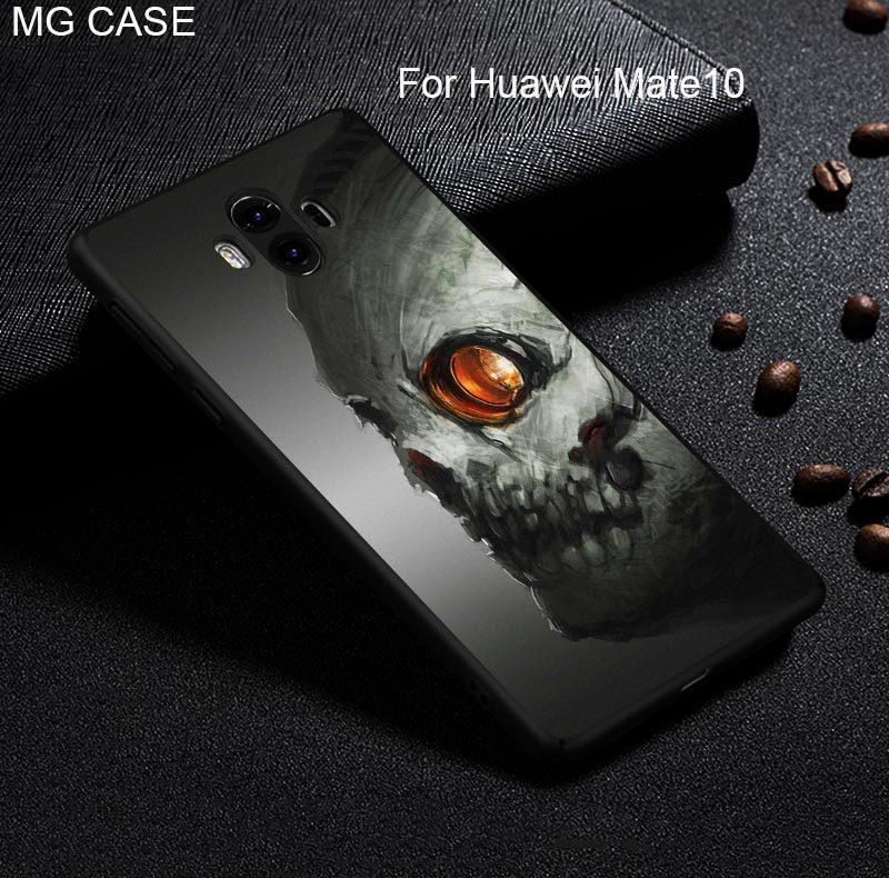 Funny Skull Head Phone Cover Case For Huawei Mate9 Mate10 Pro Nova2 Plus P20 P20PRO P20Lite Diablo CASES For Huawei Honor V10 10