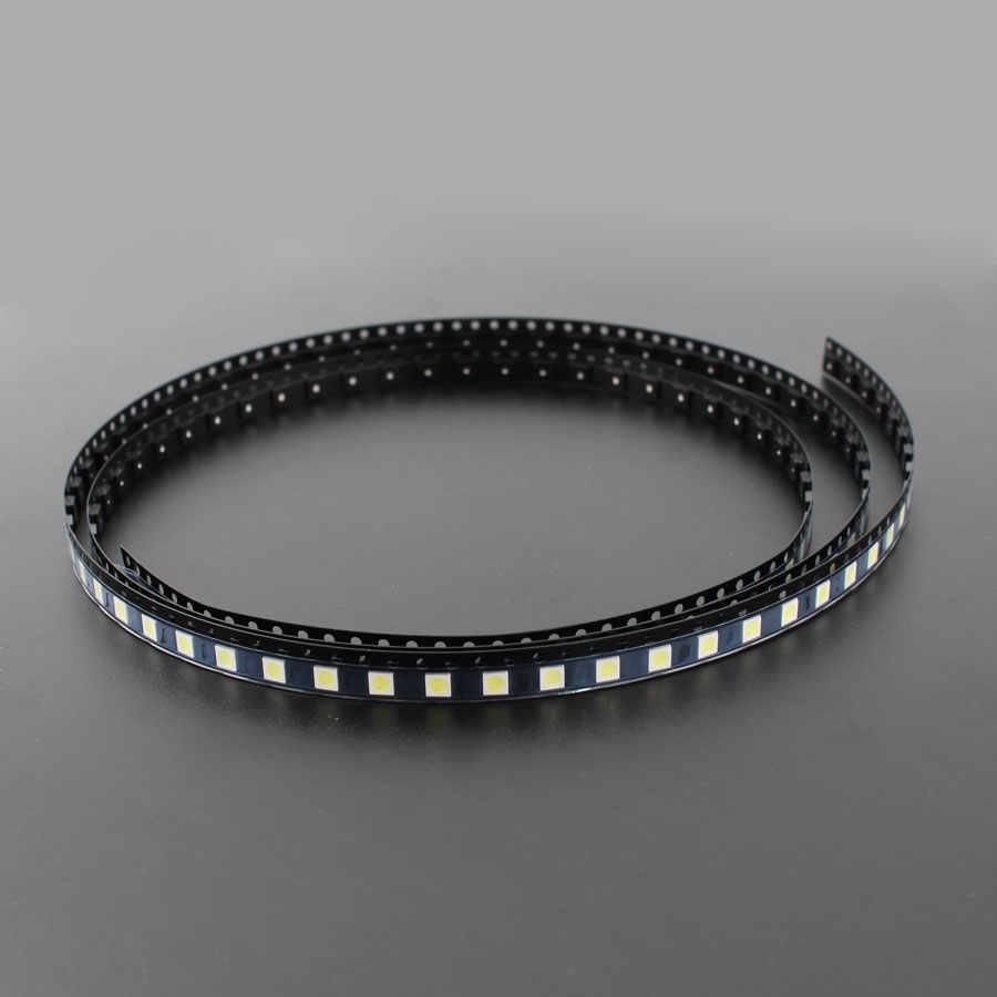 50 unids/set 3535 2W 6V SMD LED retroiluminación TV SMD diodos de la lámpara Cool blanco LCD TV retroiluminación diodo emisor de luz reparación luces LED