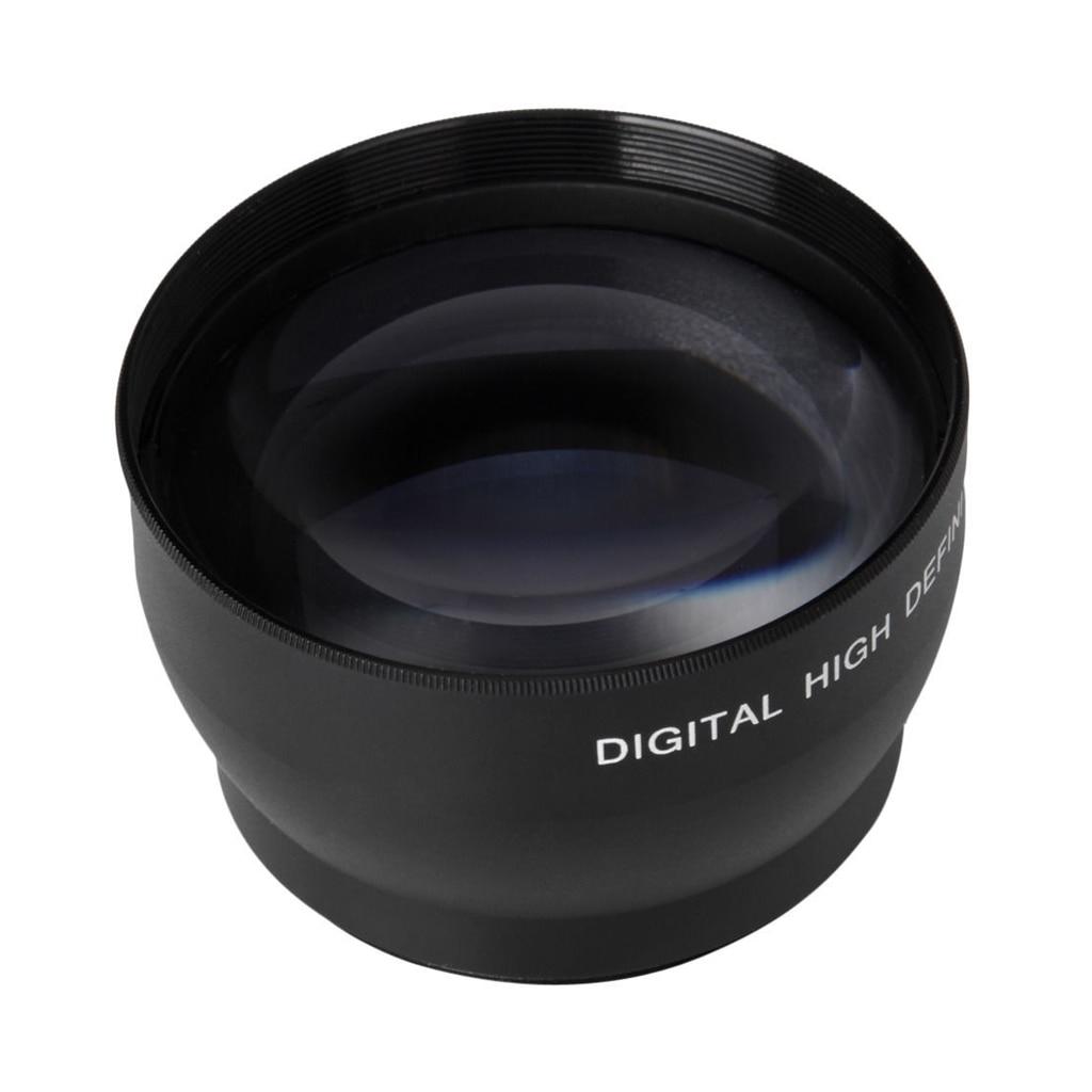 Lente de telefoto con aumento 2X de 52mm para Nikon AF-S 18-55mm - Cámara y foto - foto 3
