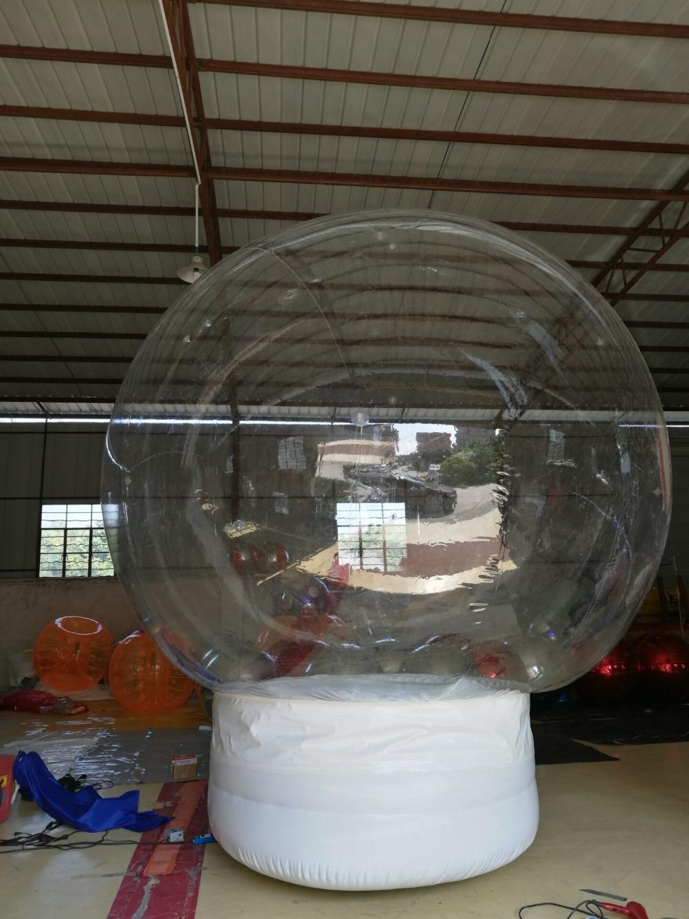 Kundenspezifische transparente Schneeflocke-Ball-Dekoration, - Outdoor-Spaß und Sport - Foto 2