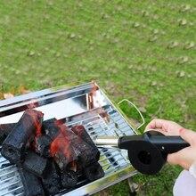 Вентилятор для барбекю, воздуходувка для приготовления пищи на открытом воздухе, для барбекю, черный огненный сильфон, ручной инструмент для пикника, кемпинга, барбекю, инструмент для барбекю