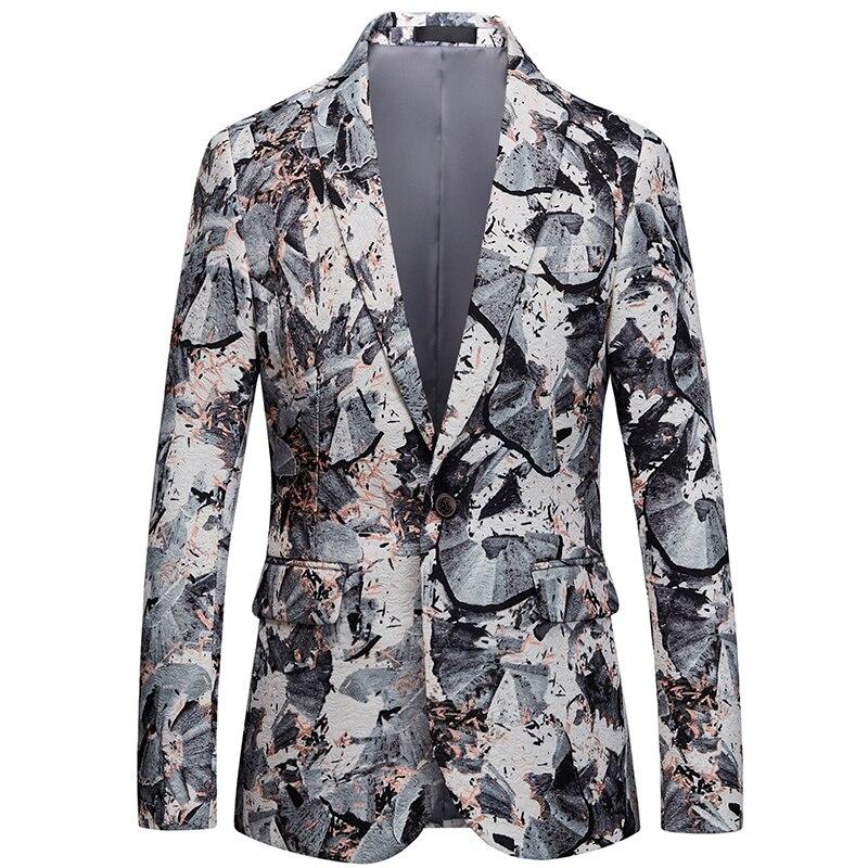2018 CIGNA Brand Men Long Sleeve Suit font b Jackets b font Large Size 6XL Classic