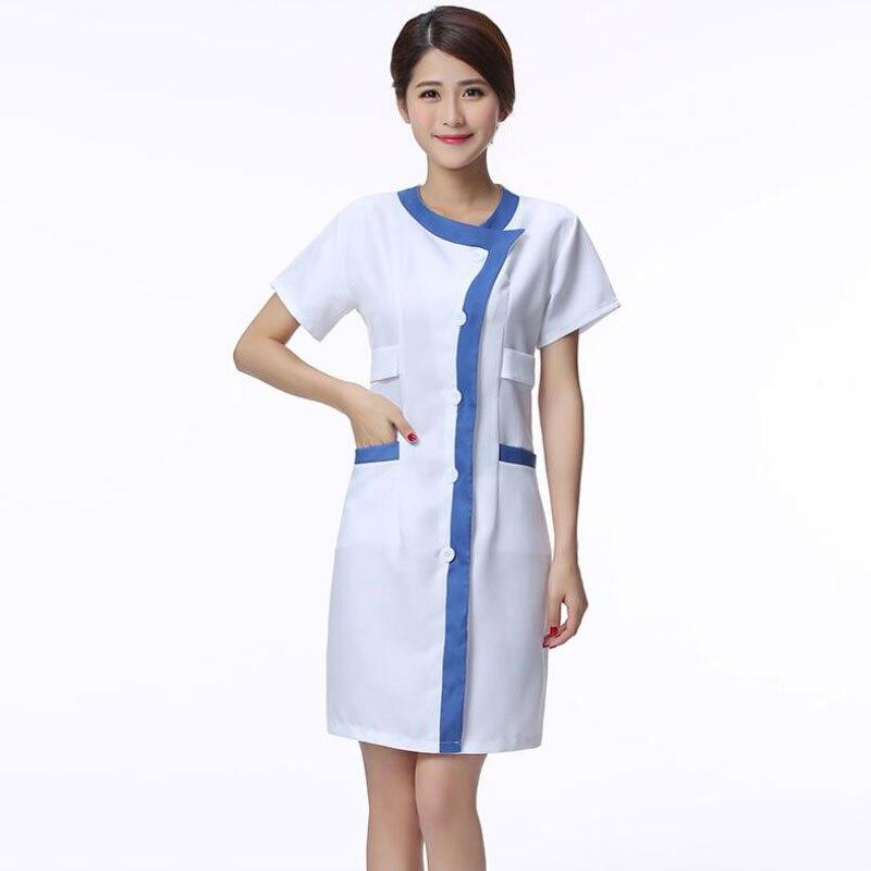 2019 New Work Clothes For Nurse Uniform Beautician Overalls Medical Clothing Beautician Dress Beauty Salon Uniforms