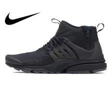 new concept de82a 868c3 NIKE AIR PRESTO mi utilitaire hommes chaussures de course baskets coupe  haute respirant Sports de plein