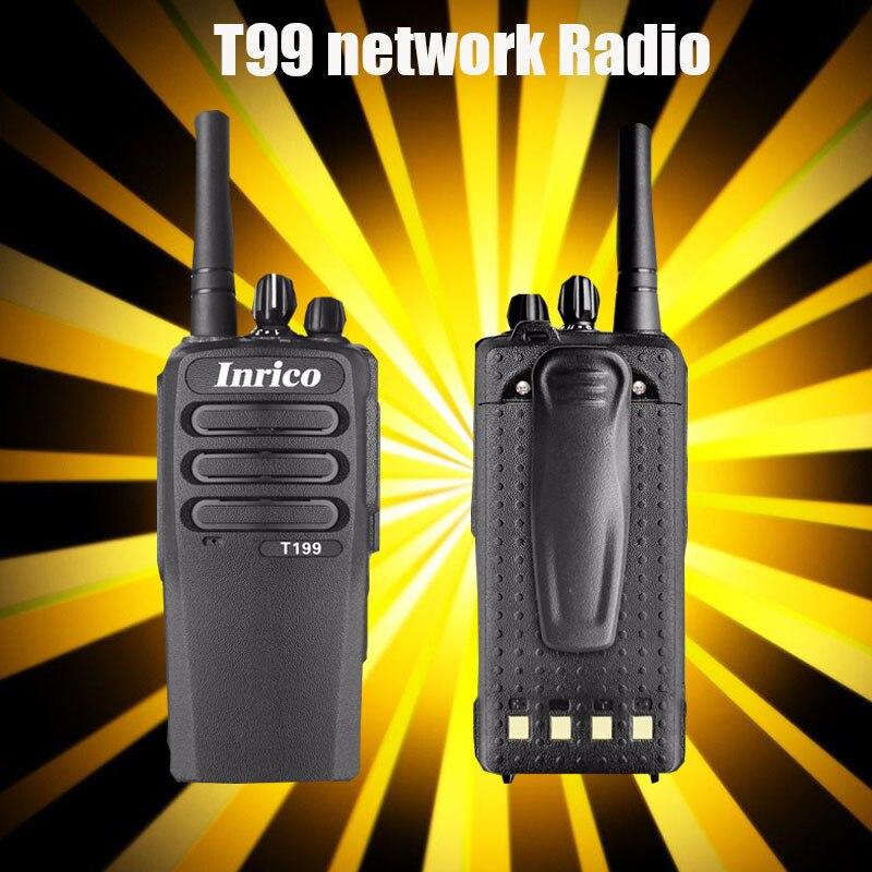 Simkaart walkie talkie Netwerkintercom wifi bluetooth walkie talkie Handige T199 Two Way Radio simkaart Public Network radio