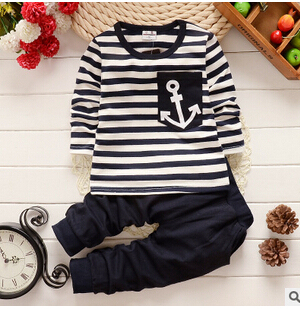 2016 spring new fall and winter clothes children's clothing boys sports suit kids clothes children coat sweater piece tracksuit